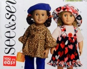Butterick See & Sew 5944 18 inch Doll Clothes New