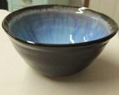 Bowl Ceramic Bowl Pottery Bowl Ceramics and Pottery Handmade Bowl Stoneware Kitchenware Blue Pottery Tableware Ceramic Dishes Serving Bowl