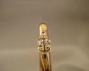 USN - Senior Chief Petty Officer - E8 - Designer Pen - Bocote Wood