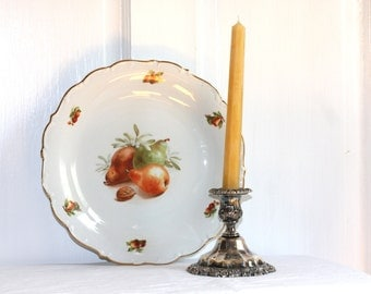 Bavarian Fruit and nut Plate