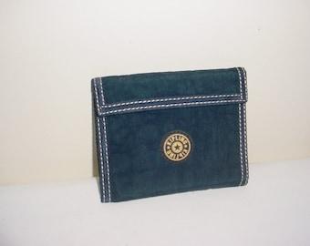 Vintage Kipling Navy Blue Wallet