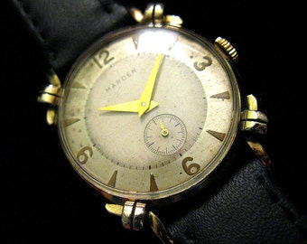 Marden Knotted Case Swiss Watch - c.1950's