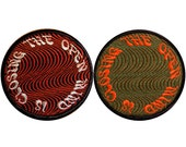 Choose from 2 Color Schemes - Embroidered Patch - Psychedelic - Op Art - The Open Mind - The Open Mind is Closing