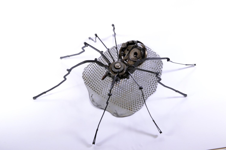 Robot Spider geschweißte Metall Spinne von WilliamWRockwell
