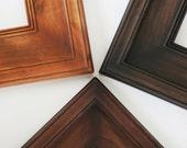 Picture Frame / Knotty Alder / Plein Air Style / Sizes 8x10 to 12x12