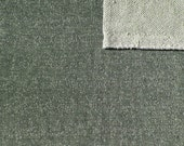 Green Heathered French Terry Knit Sweatshirt Fabric, 1 Yard PRE-ORDER