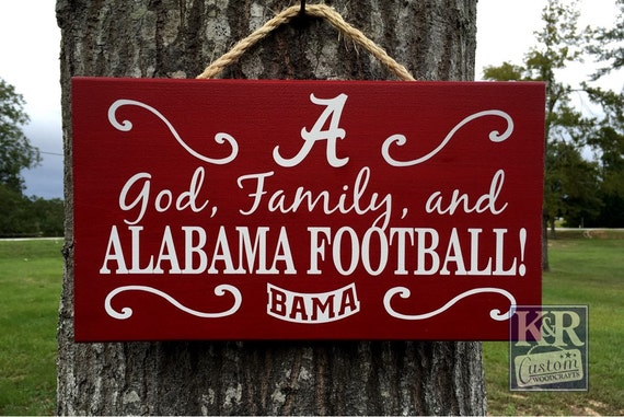 Reserved for alice alabama sign god family and for Alabama football wall mural