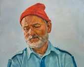 Steve Zissou, Print from Original Painting
