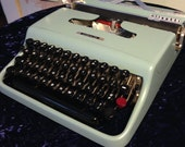 Sweet 1964 Olivetti *Italian-Made* Lettera 22 with Case + Manual