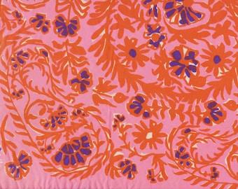 Pink Vera Ladybug Silk Scarf purple
