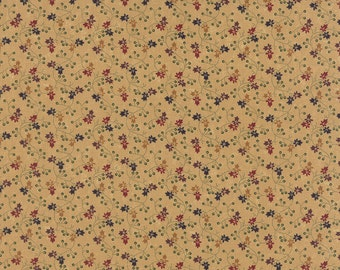 Bees N Blooms Tan 92-11 Kansas Troubles Moda Quilt Fabric by the 1/2 yard