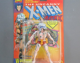 Wolverine Weapon X - The Uncanny X-Men action figure - 1992