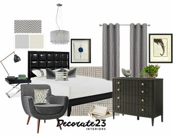 Bedroom Interior Design, E-Interior Design, Online Interior Design, Home Decor, Affordable Interior Design Service, DIY Interior Design