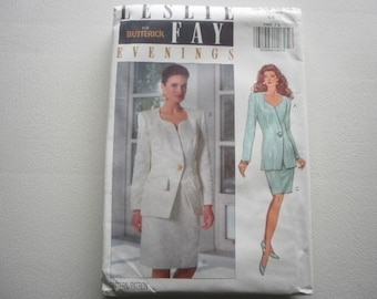 Pattern Vintage 1992  Ladies Skirt  and Top 2 Styles  Sizes 6 to 10 Butterick V-5989