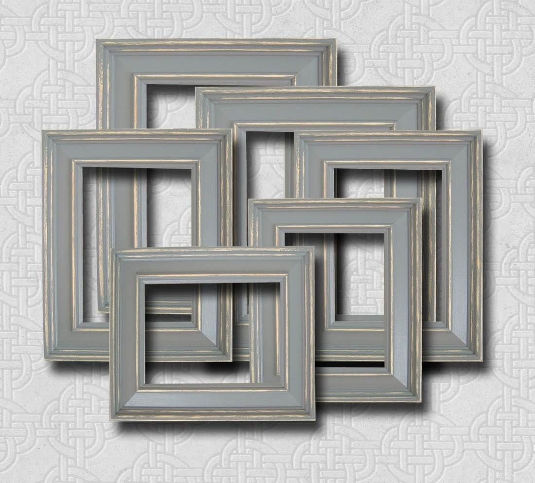 picture frame set picture frame gray grey wall art frames. Black Bedroom Furniture Sets. Home Design Ideas