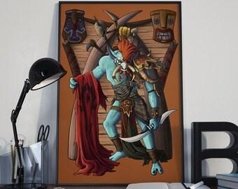 For Da Horde - Print - World of Warcraft Warchief Vol'jin