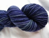 Handspun Louet Bluefaced Leicester - Fingering Weight Wool - Wild Violets