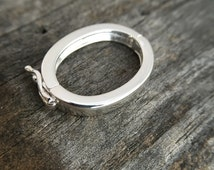 Sterling Silver Clasp Sterling Silver Enhancer Clasp Sterling Silver Jewelry Findings Sterling Silver Jewelry Supplies