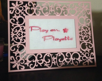 Play On, Playette - hand-stitched Blackstreet No Diggity lyrics.