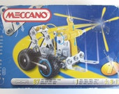 MECCANO Erector Set 1511 Forklift Truck Motion System Sealed Parts bags Vintage Childrens Toy
