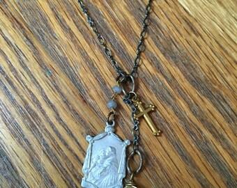 Vintage St. Anthony Necklace