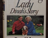 Vintage Book Autographed by Betty WhiteThe Leading Lady Dinah's Story - Co-author Tom Sullivans Autograph - FINE Condition -Golden Retriever