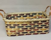 Digital Download, Instructions to Weave the Indian Summer Basket, Pattern