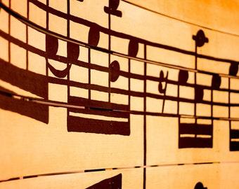 Music Art Print, Texas Photography, Fine Art Photography, Music Notes Wall Art, Photo Art Print, City Photography