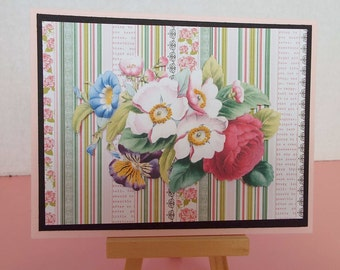 All Occasion Card with Flowers