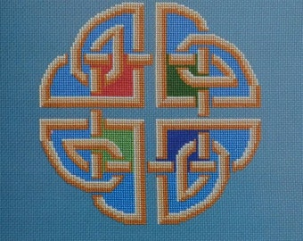 Plenty and Grace - Great Bear Canada - Celtic Series Chart GBC-304 - Coloured Cross Stitch Chart including 3 colour variations