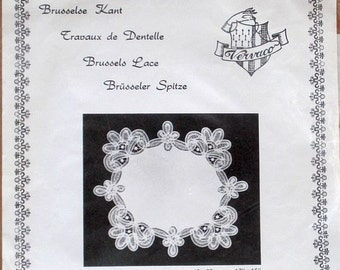 Brussels Lace - Square Doily Kit - Veraco Kit 501