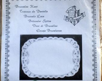 Brussels Lace - Rectangular Doily Kit - Veraco Kit 504