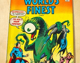 DC bronze age comic book. Worlds Finest Superman. Vol 35 #233 October 1975
