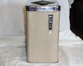 Vintage Flour Canister