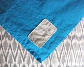 the sloane washed  linen beach towel