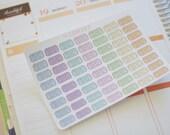 56 Hand Drawn Cinema Ticket Planner Stickers, perfect for Erin Condren Life Planner, Happy Planner, Filofax, Kikki k, Inkwell Press