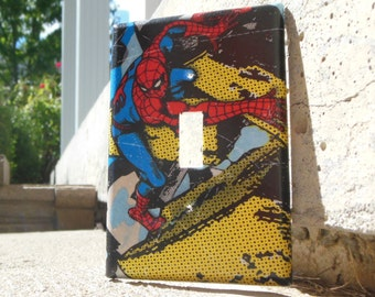 Spiderman Marvel Light Switch Plate Cover