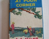 The House At Pooh Corner Hardcover A. A. Milne Cloth Bound 1950 Book With Original Dust Jacket