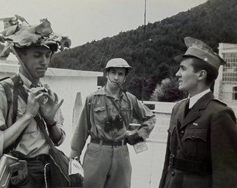 Vintage Photograph - Three Actors Dressed as Soldiers