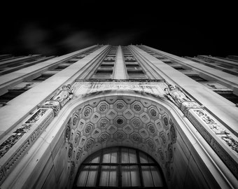 Detroit Free Press, Detroit, Architecture Photography, 11x14