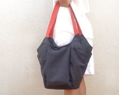 Pepita Fabric bag, Canvas handbag, women shoulder Bag, vegan bag for women, everyday bag, women tote, travel bag, shopping bag