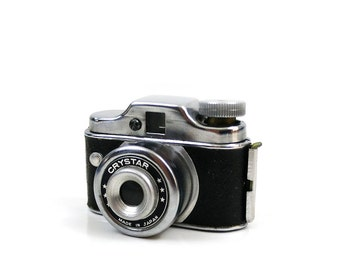 "Vintage Hit Camera - Crystar Miniature ""midget"" camera - 1956 spy camera"