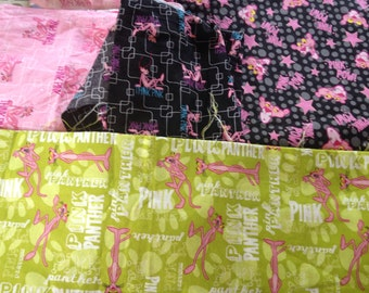 Pink panther fabric