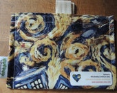 Dr. Who Exploding Tardis Friendly Snack Bag by Seweco/Easy Open /Child Friendly Tabs/FOOD SAFE