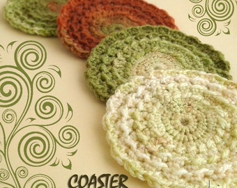 Coaster CROCHET PATTERN! Permission to sell finished items. Pattern No. 175