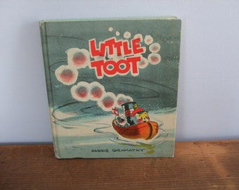 Little Toot by Hardie Gramatky Vintage Weekly Reader Book
