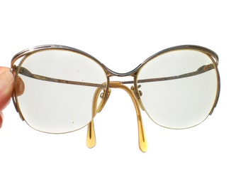 80s Glasses Tura Designer with Large Prescription Lenses Hipster Nerd Womans - Vintage Accessories Eyeglass Frames