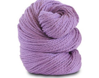 Organic Cotton Yarn Worsted, 150 Yards, Orchid
