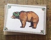 Brown Bear // Greeting Card