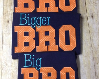 BIG Brother shirt, BIGGER Brother shirt, BIGGEST Brother shirt, new baby brother, middle brother shirt, little brother shirt, baby brother